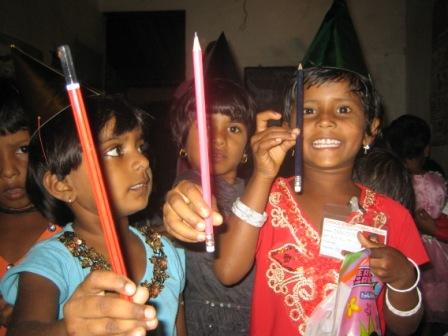 Children at Grace Educational Trust School's Children's Day. The joy on their faces says it all!