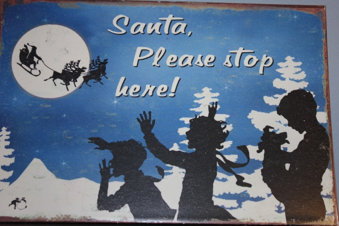 Santa, Please Stop Here!