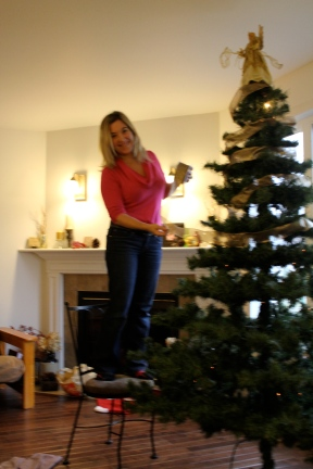 Stop and smell the...Christmas tree! Happy holidays and thanks so much for reading. xx