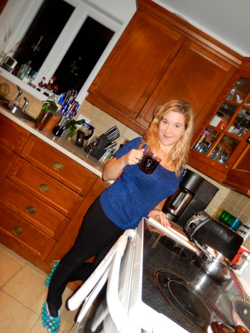 Cheers! To 'finding' more time for the things you really love. Heather & her mulled wine
